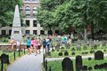 Granary Burying Ground Royalty Free Stock Photography - 98805337