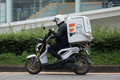 Lazada Express And Logistics Mini Container Motorcycle Stock Images - 98844834