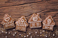 Gingerbread Home Cookies Royalty Free Stock Photo - 98852495