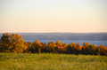 Lake Vista During Autumn In The Finger Lakes Royalty Free Stock Image - 98930416