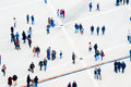 Crowd Aerial View. Motion Blur Royalty Free Stock Images - 98931539
