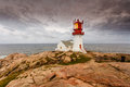 Lindesnes Lighthouse In Norway Stock Photography - 98966082