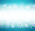 Winter Snow Vector Background With White Snow Flakes Elements In Blue Background Stock Images - 98974164