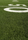Fifty Yard Line Royalty Free Stock Images - 994039