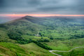 Stunning Sunrise Over Mam Tor Royalty Free Stock Photo - 99005845