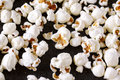 Fresh Popcorn Close Up On Black Table Royalty Free Stock Images - 99009759