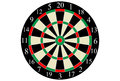 Vector Dart Board Royalty Free Stock Images - 99015899