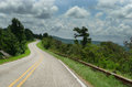 Talimena Drive, Ouachita Mountains, Curving Roads Royalty Free Stock Images - 99063039
