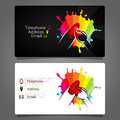 Business Card For Manicure Design Royalty Free Stock Photo - 99094015