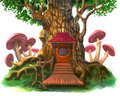Fairy-tale House In The Tree Royalty Free Stock Images - 99095459