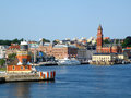 Picturesque Cityscape Of Helsingborg View From The Ferry On The Sound Or Oresund Strait, Sweden Stock Photo - 99095850