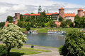 The Wawel Royal Castle In Cracow Royalty Free Stock Image - 9910426