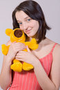 Girl With Teddy Bear Stock Photos - 9917853