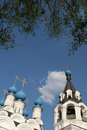 Trinity Church And Bell Tower In Murom Royalty Free Stock Photo - 9918465