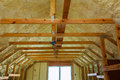 Thermal And Hidro Insulation With Spray Foam At House Construction Royalty Free Stock Photos - 99105598
