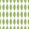 Seamless Vector Pattern With Green Petals Stock Image - 99120901
