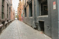 Melbourne Cobble-stoned Laneway Stock Photo - 99136880