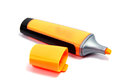 Marker Highlighter Pen Isolated On White Background Royalty Free Stock Image - 99139346