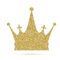 Royal Crown Icon With Glitter Effect, Isolated On White Background.   Stock Images - 99184594