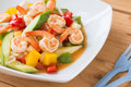Sweet And Sour Sauce Fried With Seafood Shrimp Squid Stock Photos - 99188753