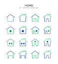 Home Flat Icon Royalty Free Stock Photography - 99188777