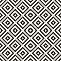 Abstract Geometric Pattern With Stripes, Lines. Seamless Vector Ackground. Black And White Lattice Texture. Royalty Free Stock Photo - 99193005