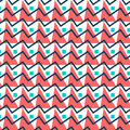 Geometric Abstract Seamless Pattern. Simple Triangles Background Stock Image - 99215001