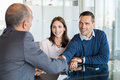Couple Meeting With Financial Advisor Stock Photos - 99221693