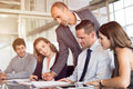 Team Of Business People Working Stock Image - 99222471