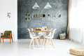 Dining Room With Window Royalty Free Stock Images - 99223839