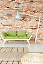 Green Wooden Lounge Royalty Free Stock Images - 99224199
