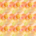 Abstract Beautiful Artistic Tender Wonderful Transparent Bright Autumn Orange Yellow Red Circles Different Shapes Pattern Watercol Stock Image - 99224451