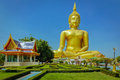 Giant Sitting Buddha Statue. Royalty Free Stock Images - 99260449