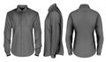 Vector Collection Of Men Clothes. ;Men`s Long Sleeved Shirt Stock Photography - 99268212