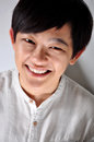 Happy Face Young Asian Woman In White Shirt Royalty Free Stock Image - 99276006