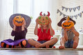 Kids At Halloween Stock Photography - 99283522