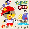 Cute Pirate Stock Images - 99338724