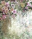 Abstract Colorful Flowers Watercolor Painting. Spring Multicolored In  Nature. Stock Image - 99356171