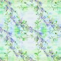 Flowers  -  Decorative Composition. Watercolor. Seamless Pattern. Use Printed Materials, Signs, Items, Websites, Maps, Posters, Po Stock Photo - 99377180