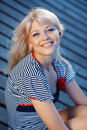 Pretty Sailor Royalty Free Stock Image - 9943196
