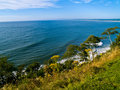 Cliffside View Of Ocean Royalty Free Stock Photo - 9951915