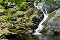 Water Falling Over Rocks Stock Image - 9954211