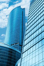 Modern Skyscrapers Business Centre Royalty Free Stock Photos - 9958478