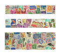 Banners Of Stamps Royalty Free Stock Photos - 9960848