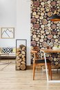 Interior With Dining Area Stock Image - 99690891