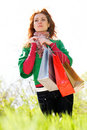 Green Shopping Begins Here Stock Photo - 9970480