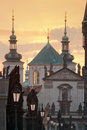 Charles Bridge, Towers Of The Old Town Stock Images - 9978644