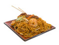 Stir Fry Noodles Royalty Free Stock Images - 9986229