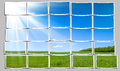 Bright Summers Day Royalty Free Stock Photo - 9990035