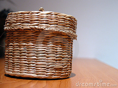 Hand-made basket